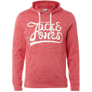 Jack & Jones Originals Men's Panther Hoody - Scarlet