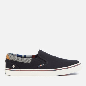 Wrangler Men's Legend Slip On Plimsolls - Black