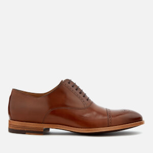 Paul Smith Men's Bertin Leather Brogue Toe Oxford Shoes - Tan
