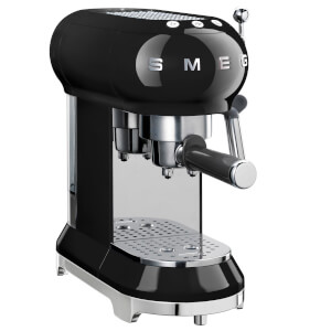 Smeg ECF01BLUK Espresso Machine - Black