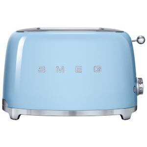 Smeg TSF01PBUK 2 Slice Toaster - Pastel Blue