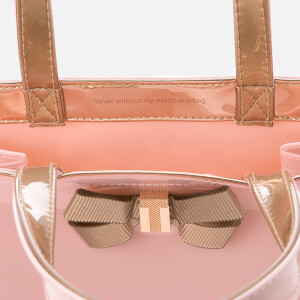 Ted Baker Women's Bow Detail Small Icon Bag - Pale Pink: Image 5