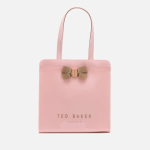 Ted Baker Women's Bow Detail Small Icon Bag - Pale Pink: Image 1
