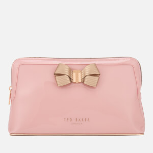 Ted Baker Women's Libbert Bow Washbag - Pale Pink