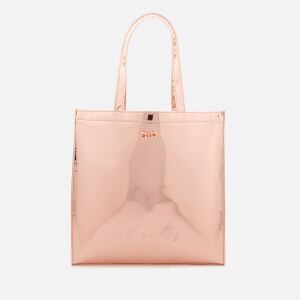 Ted Baker Women's Jencon Mirrored Large Icon Bag - Rose Gold