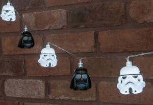 Star Wars Darthvader and Stormtrooper String Lights
