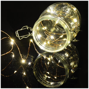 Lyyt 100 LED Copper Wire - Warm White