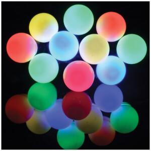 Lyyt 10 Bauble Outdoor Festoon LED Lights - Multicolour