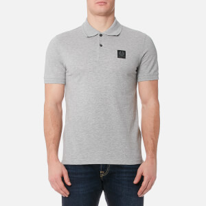 Belstaff Men's Stannett Polo Shirt - Grey Melange