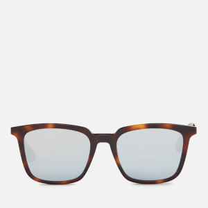 McQ Alexander McQueen Tortoise Shell Sunglasses - Havana/Gold/Light Blue