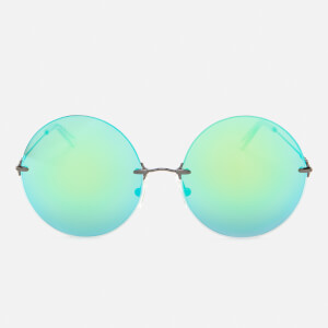 Christopher Kane Women's Round Frame Sunglasses - Green