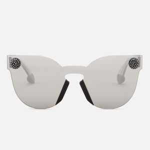 Christopher Kane Women's Cat Eye Sunglasses - Silver/Grey
