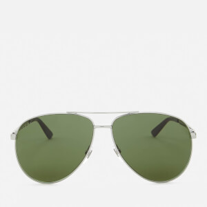 Gucci Men's Aviator Sunglasses - Green