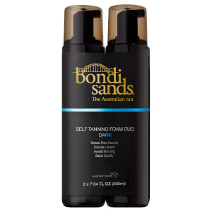 Bondi Sands Dark Foam Duo Gift Set 2 x 200ml