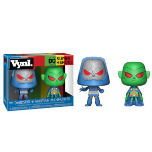 DC Martian Manhunter and Darkseid Vynl.