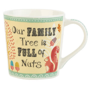 Bramble and Rocket Our Family Tree Mug