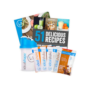 4 Sample, Shaker, IdealPlan & Smoothie eBook Bundle