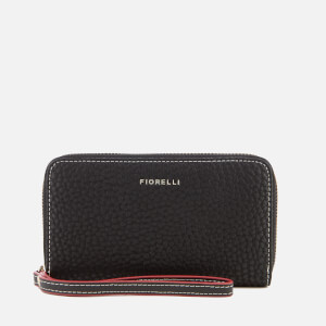 Fiorelli Women's Finley Medium Zip Around Wallet - Black