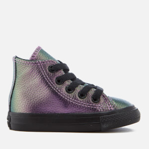 Converse Toddlers' Chuck Taylor All Star Hi-Top Trainers - Violet/Black/Black