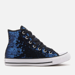 Converse Women's Chuck Taylor All Star Hi-Top Trainers - Midnight Indigo/Black/White