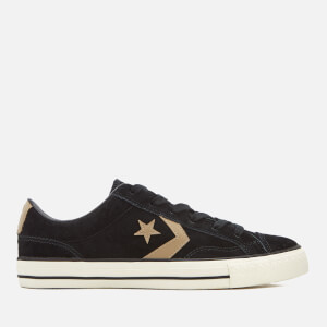 Converse Men's Star Player Ox Trainers - Black/Khaki/Egret