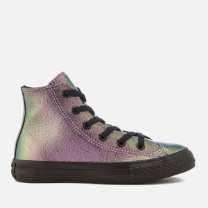 Converse Kids' Chuck Taylor All Star Hi-Top Trainers - Violet/Black/Black