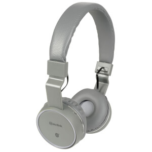 AV: Link Wireless Bluetooth On-Ear Noise Cancelling Headphones (With Built-in FM Radio) - Dark Grey