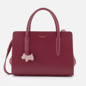 Radley Women's Liverpool Street Medium Ziptop Multiway Bag - Berry