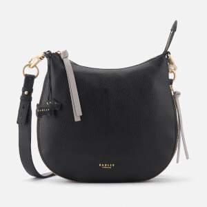 Radley Women's Pudding Lane Large Ziptop Cross Body Bag - Black