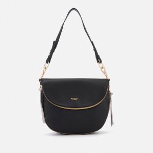 Radley Women's Pudding Lane Medium Flapover Shoulder Bag - Black