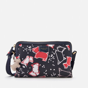 Radley Women's Speckle Dog Small Zip-Top Cross Body Bag - Ink
