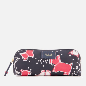 Radley Women's Speckle Dog Pencil Case - Ink