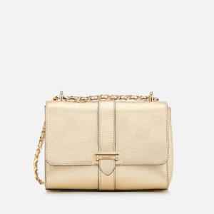 Aspinal of London Women's Lottie Bag - Gold