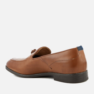 Hudson London Men's Dickson Leather Tassel Loafers - Tan: Image 4