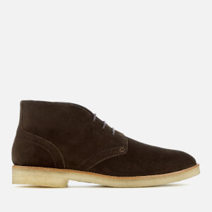 Hudson London Men's Hatchard Suede Desert Boots - Dark Brown