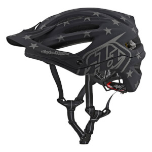 Troy Lee Designs A2 MIPS Superstar MTB Helmet - Black