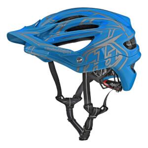 Troy Lee Designs A2 MIPS Pinstripe 2 MTB Helmet - Ocean