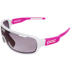 POC DO Blade AVIP Sunglasses - Hydrogen White/Flourescent Pink