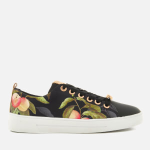 Ted Baker Women's Ahfira Cupsole Trainers - Peach Blossom Black