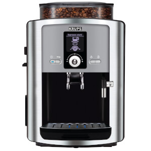 KRUPS EA8050 Espresseria Bean-to-Cup Coffee Machine - Stainless Steel