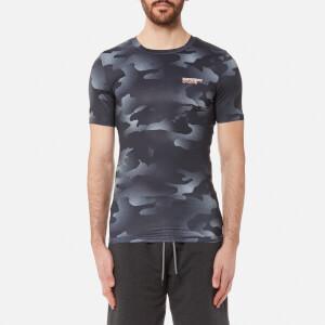 Superdry Sport Men's Athletic Dissolve Camo T-Shirt - Grey Black Dissolve Camo