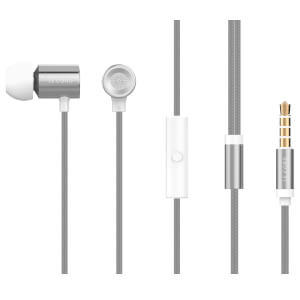 Le Cord SLV01 Earphones - Metallic