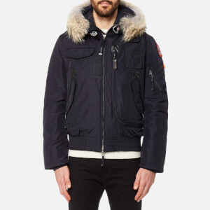Parajumpers Men's Gobi Faux Fur Bomber Jacket - Navy