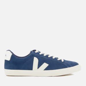 Veja Men's Esplar Suede Low Trainers - Midnight Pierre