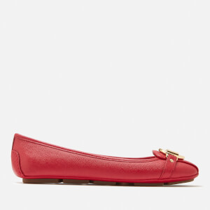 MICHAEL MICHAEL KORS Women's Fulton Moc Flats - Bright Red