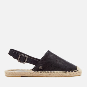 Superdry Women's Evelyn Espadrilles - Black Shimmer