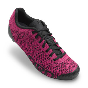 Giro Empire E70 Knit Women's Road Cycling Shoes - Berry/Bright Pink