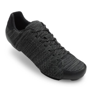 Giro Republic R Road Cycling Shoes - Black/Charcoal Leather