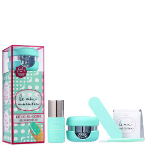 Le Mini Macaron Gel Manicure Kit - Sweet Mint