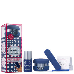 Le Mini Macaron Gel Manicure Kit - Midnight Blueberry